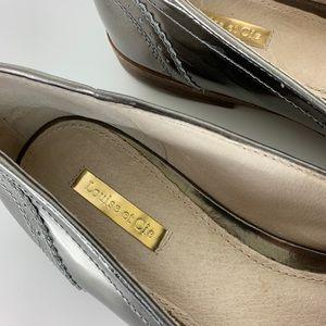 Louise et Cie Shoes - Louise et Cie Metallic Joey Tassel Loafers 10